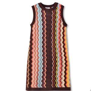 Missoni target zig zag sleeves women's dress XS